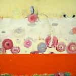 Lollypop (2010) – mixed on panel – 30×30 in – SOLD