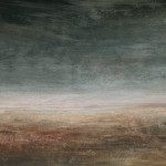 Wild Sky (2005) - mixed media on panel - 31x39 in - $2500.