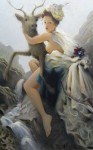 Kai McCall - I Was Alright Until I Fell in Love With You - oil on canvas - 58 x 36 in - $4300.